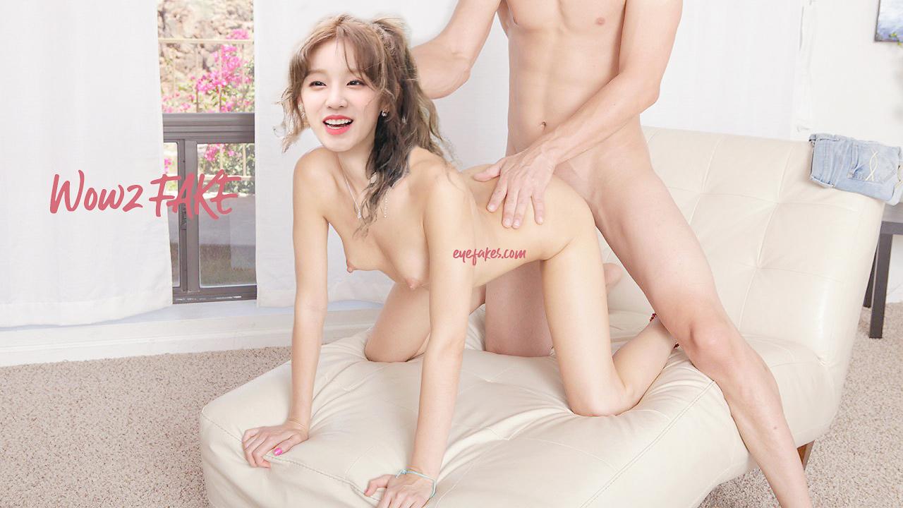 Yuqi nude fake