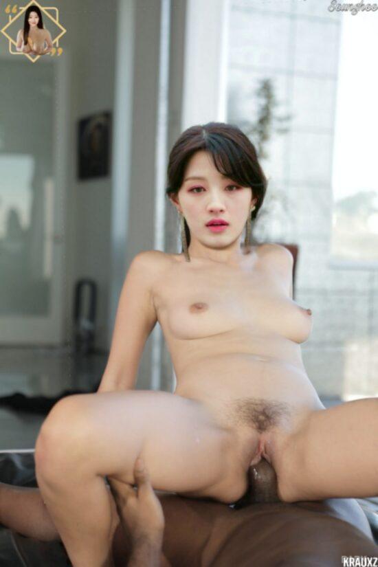 CLC Seunghee nude fake