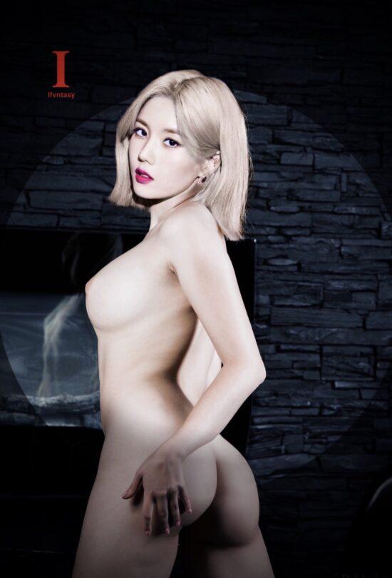 Eunbi nude fake