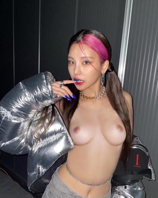 Yeji nude fake